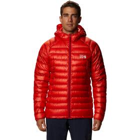 Mountain Hardwear Phantom Sudadera Capucha Hombre, fiery red